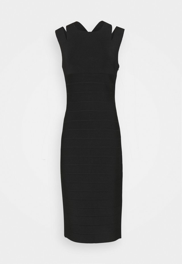 CRISS CROSS BACK DRESS - Maxi dress - black