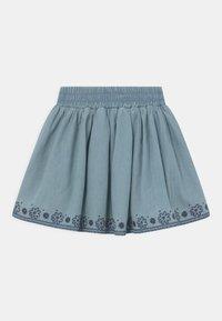 Staccato - KID - Mini skirt - mid blue denim - 1