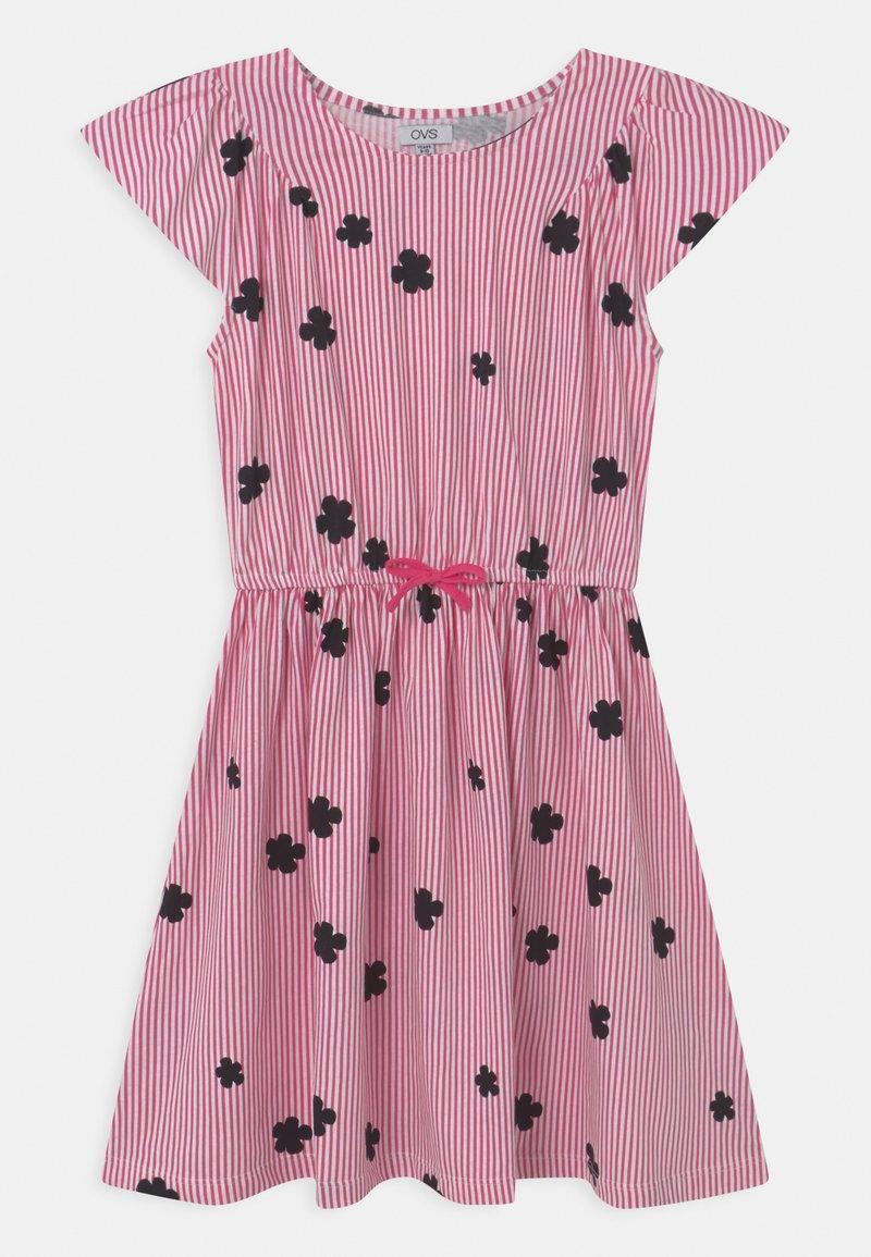 OVS - STRIPES - Žerzejové šaty - fandango pink