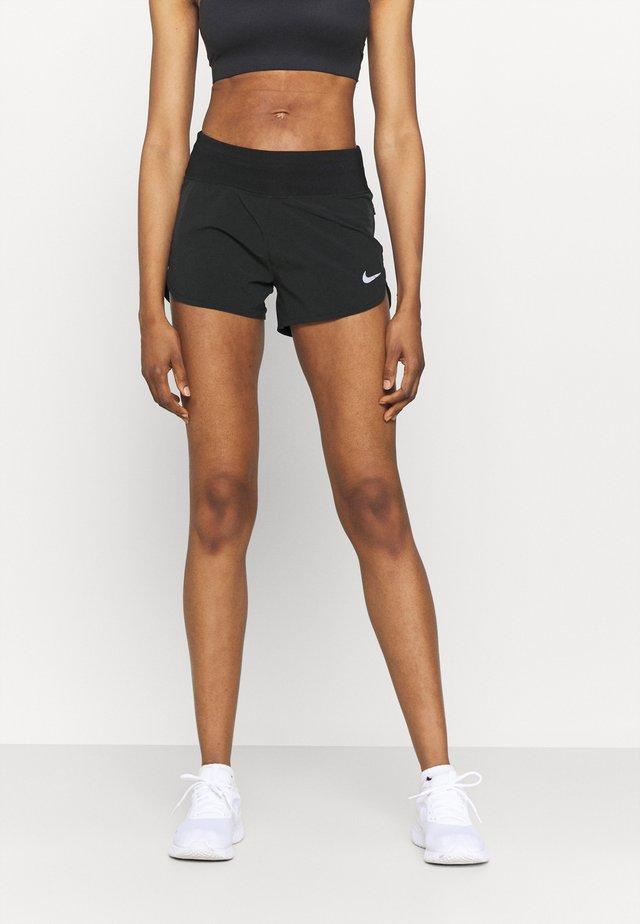 ECLIPSE SHORT - Sports shorts - black/silver