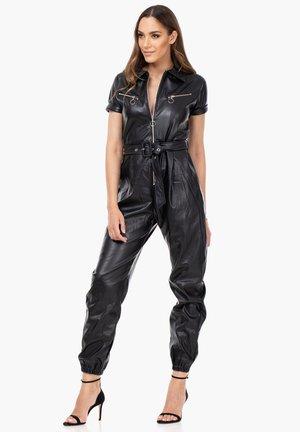 MIT REISSVERSCHLUSS - Jumpsuit - black