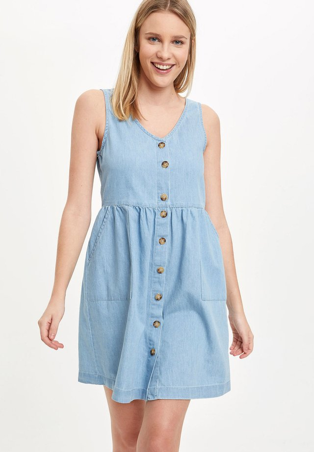 Vestido vaquero - blue
