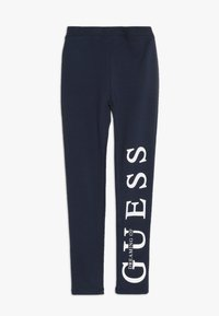 Guess - TODDLER POINTY ICON - Leggings - deck blue - 0