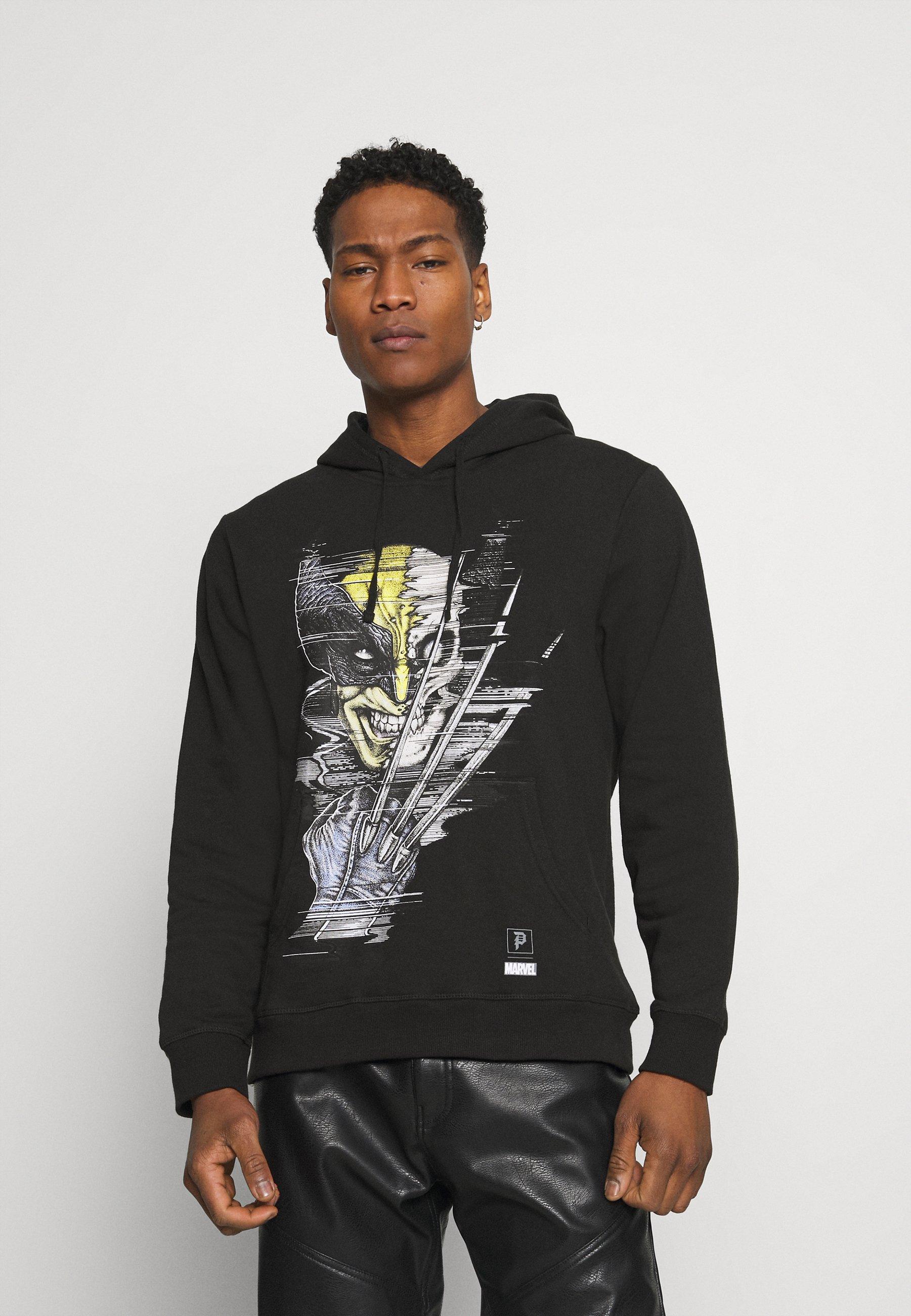Men WOLVERINE VINTAGE HOOD - Sweatshirt