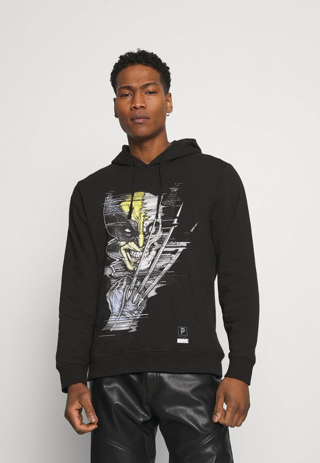 WOLVERINE VINTAGE HOOD - Sweatshirt - black