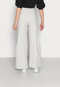 Fashion Union Petite - ALOE TROUSERS - Broek - grey melange - 2
