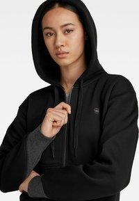 G-Star - PREMIUM CORE - Sweater met rits - black - 3