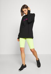 Merchcode - LADIES MAGIC MONDAY SLOGAN LONG SLEEVE - Topper langermet - black - 1