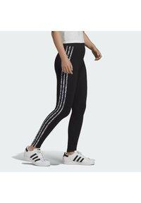 adidas Originals - Leggings - Trousers - black - 3