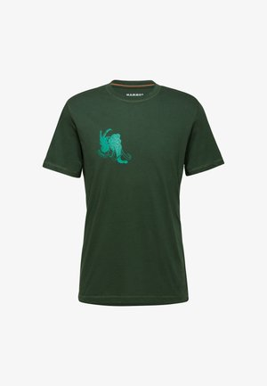SLOPER - Print T-shirt - green