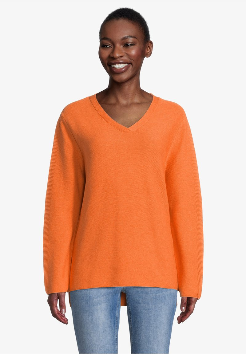 Cartoon - MIT STRUKTUR - Jumper - apricot