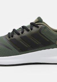 adidas Performance - RUNFALCON UNISEX - Neutral running shoes - raw khaki/core black/footwear white - 5