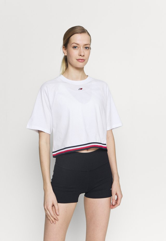 RELAXED TEE - T-shirt imprimé - white