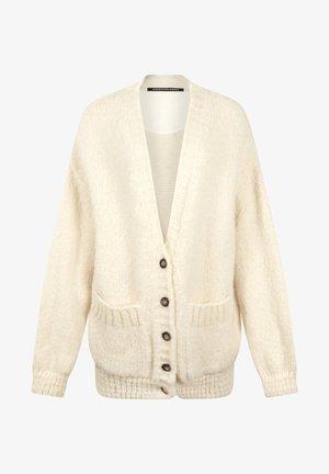 Vest - soft white melee