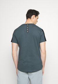 Smilodox - Print T-shirt - graublau - 2