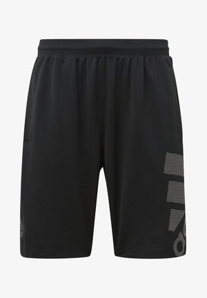 4KRFT Sport Graphic Badge of Sport Shorts - Sports shorts - black