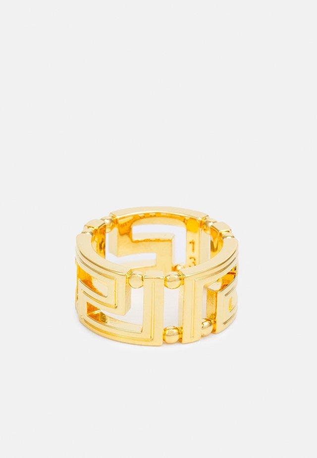 GRECA UNISEX - Ring - oro caldo