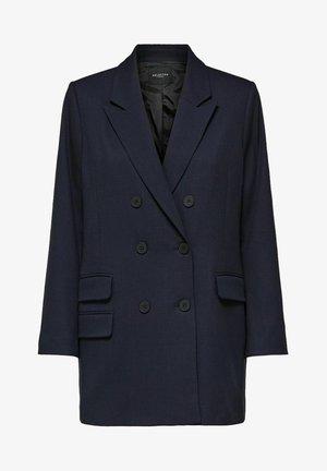 Short coat - dark sapphire