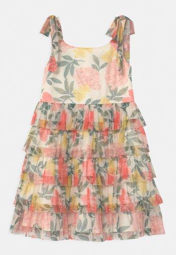 TIE SHOULDER - Cocktail dress / Party dress - pink