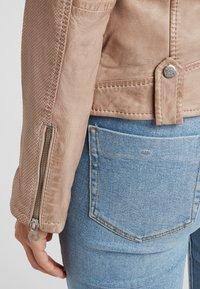Gipsy - Leather jacket - ivo:ivory - 4