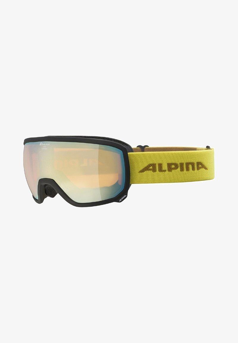 Alpina - SCARABEO - Lyžařské brýle - black-curry (a7256.x.41)