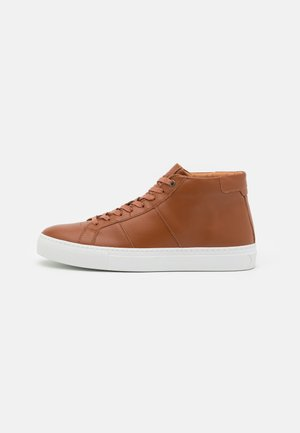 ROYALE - High-top trainers - cognac