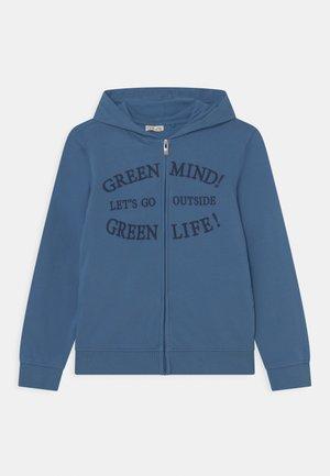 KID HOOD - Felpa con zip - dutch blue