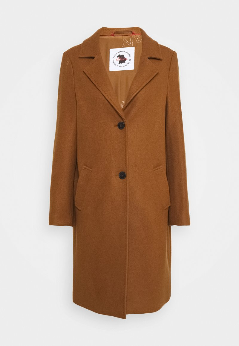 s.Oliver - langarm - Classic coat - brown
