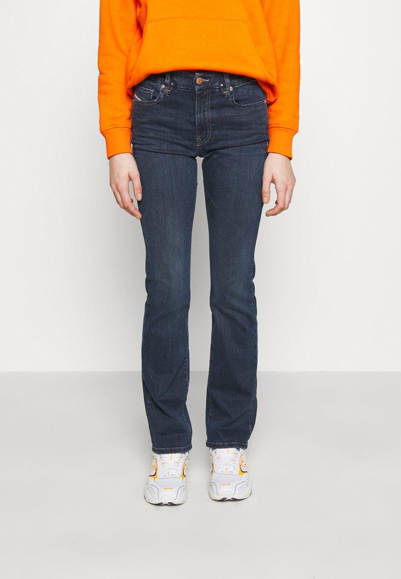 Diesel - D-SLANDY-B - Bootcut jeans - indigo