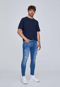 PULL&BEAR - Jeans Skinny Fit - dark blue - 1