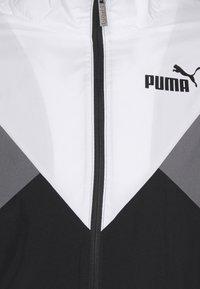 Puma - RETRO TRACKSUIT SET - Träningsset - black - 9