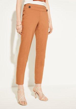 CIGARETTE - Trousers - camel