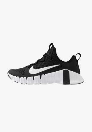 FREE METCON 3 - Sports shoes - black/white/volt