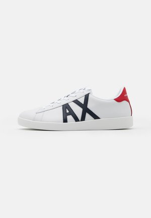 Sneakers laag - white/red/blue