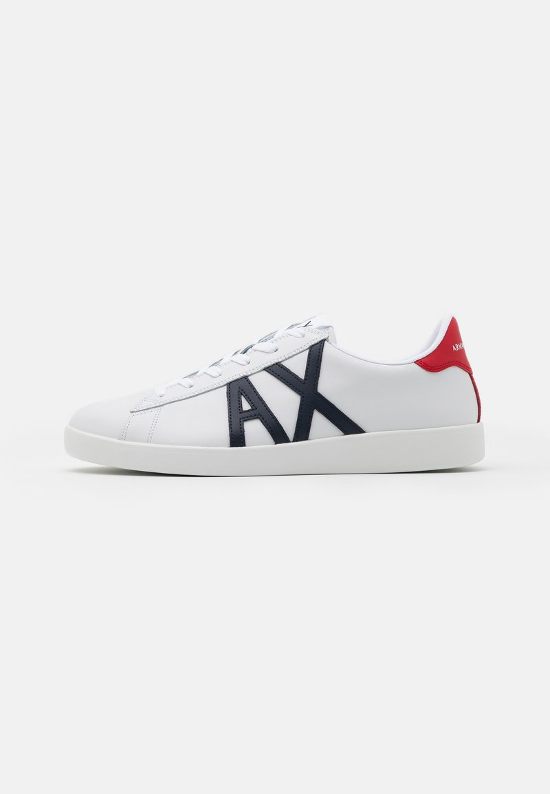 Armani Exchange - Tenisky - white/red/blue