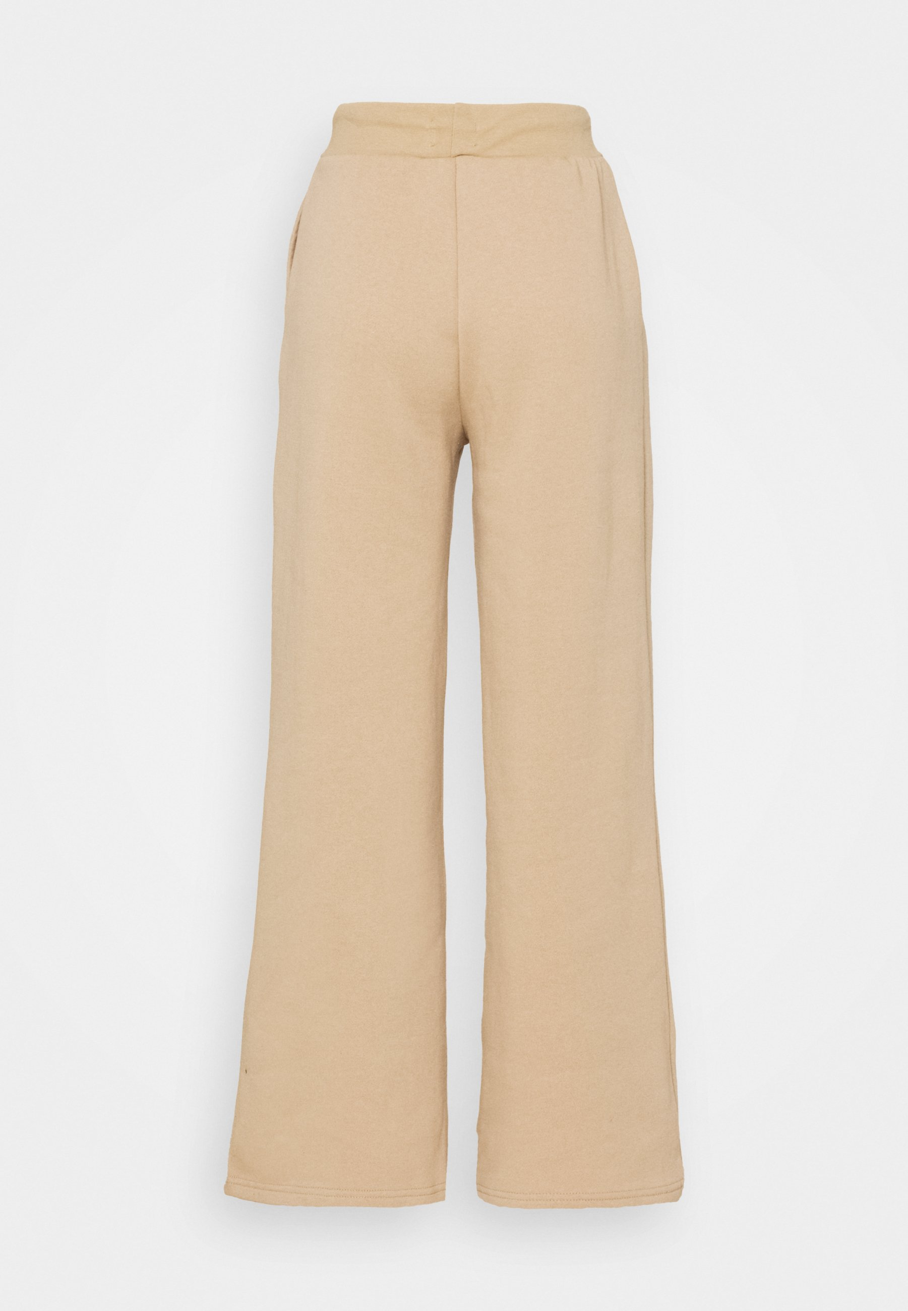 Women WIDE LEG JOGGERS WITH PINTUCK - Tracksuit bottoms