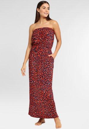 Maxi dress - marine-rot