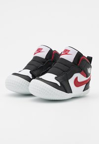 Jordan - 1 CRIB UNISEX - Sports shoes - black/gym red/white - 1