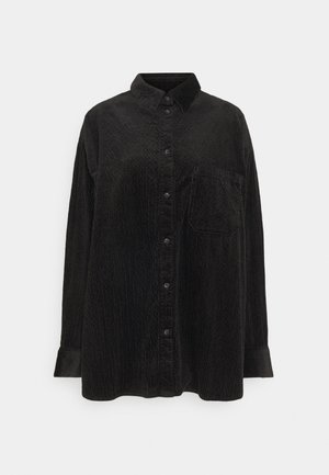 KIRA  - Button-down blouse - black