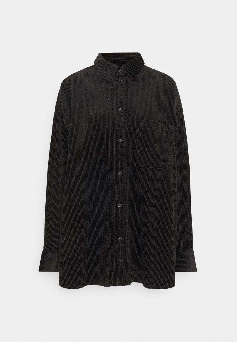 Weekday - KIRA  - Button-down blouse - black