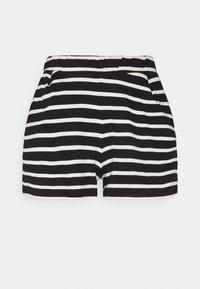 ONLY - ONLMAY LIFE STRIPE 2 PACK  - Shorts - black/black - 1