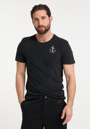 DREIMASTER T-SHIRT - T-shirt con stampa - schwarz