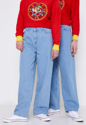 UNISEX FUNNY  - Relaxed fit jeans - denim