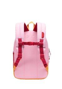 Herschel - School bag - candy pink reflective/blazing orange reflective/red light - 1