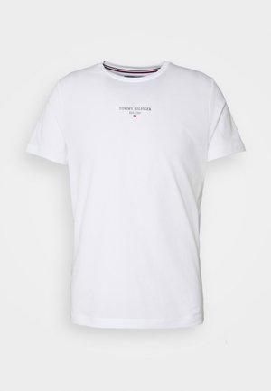 LOGO TEE UNISEX - T-shirt imprimé - white