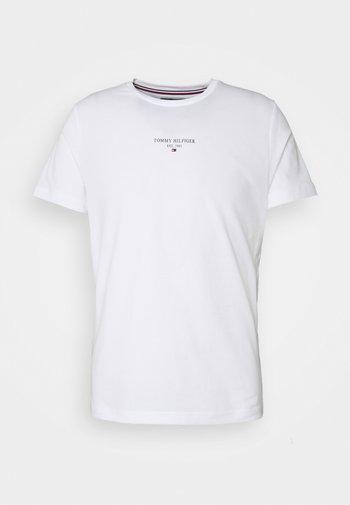 LOGO TEE UNISEX - T-shirts med print - white