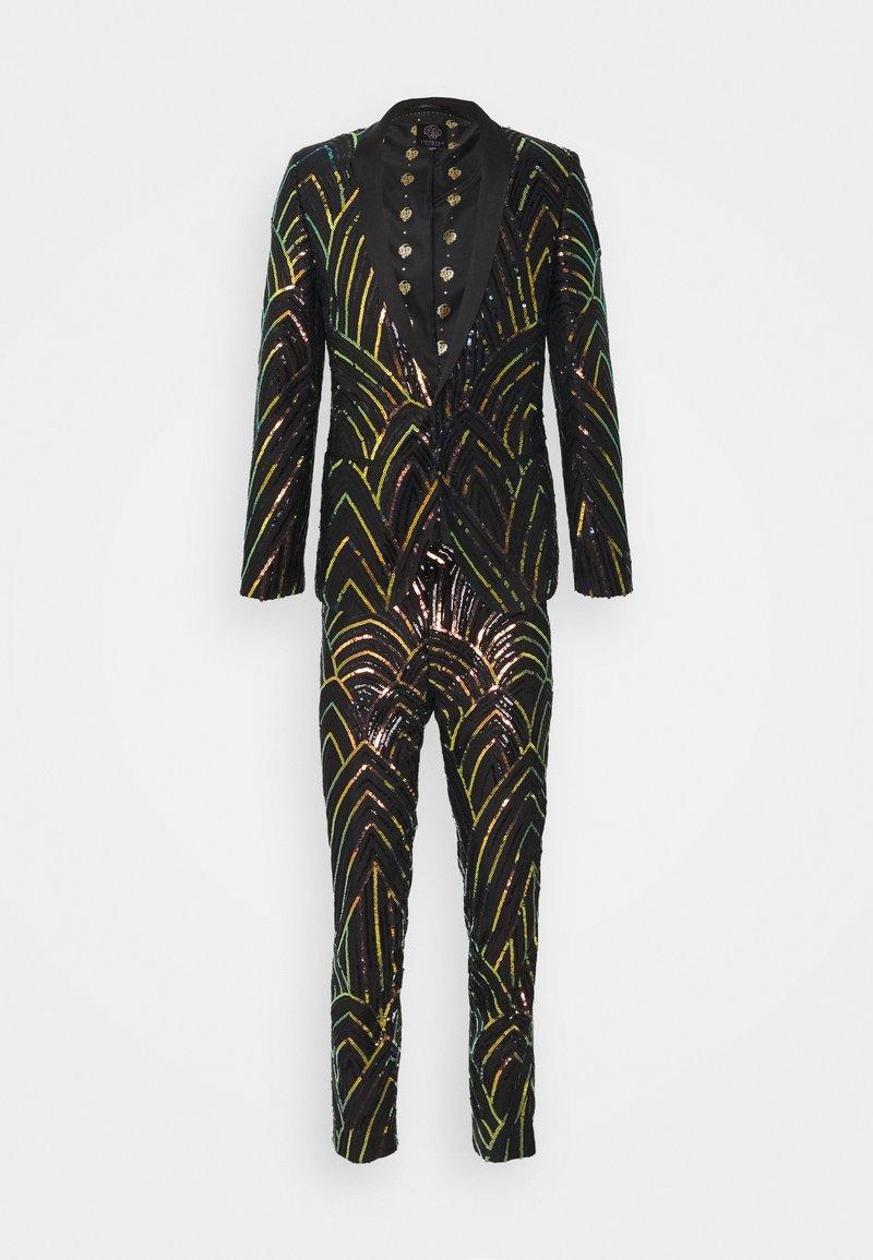 Twisted Tailor - FORRESTER SUIT SET - Suit - black