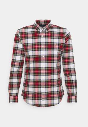 Shirt - white/red
