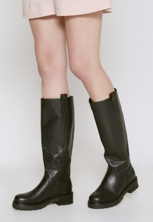 FAAS - Vysoká obuv - black