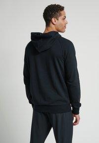 Hummel - HMLISAM  - Zip-up sweatshirt - black - 2